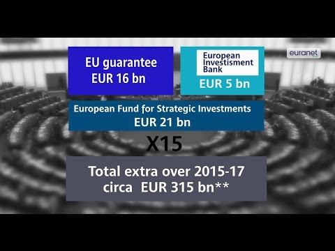 Eight billion euros become 315 in EU investment master plan