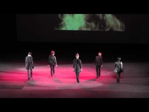 SOS 2012 Танцевальный Asia-music косплей Блок 1