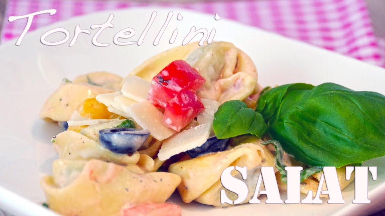 tortellini salat f rs grillen im sommer nudelsalat rezept von einfachkochen youtube. Black Bedroom Furniture Sets. Home Design Ideas