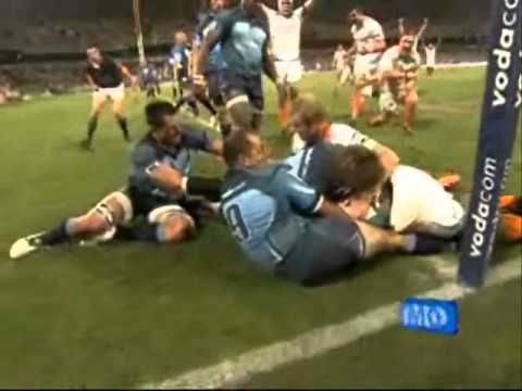 Cheetahs vs Bulls Super Rugby Rd.2 2011 Highlights