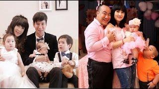 """Vợ chồng Hiếu Hiền muốn """"cạnh tranh"""" với gia đình Lý Hải"""