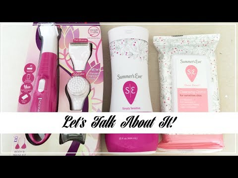 Let's Talk About It! Feminine Hygiene