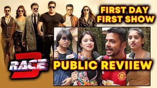RACE 3 PUBLIC REVIEW | First Day First Show | Salman Khan
