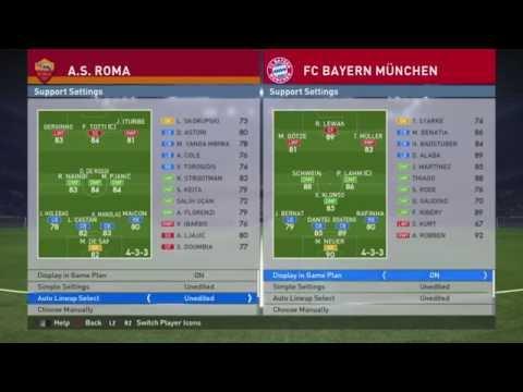 AS Roma v Bayern Munich | PES 2016 DEMO | PvP Gameplay