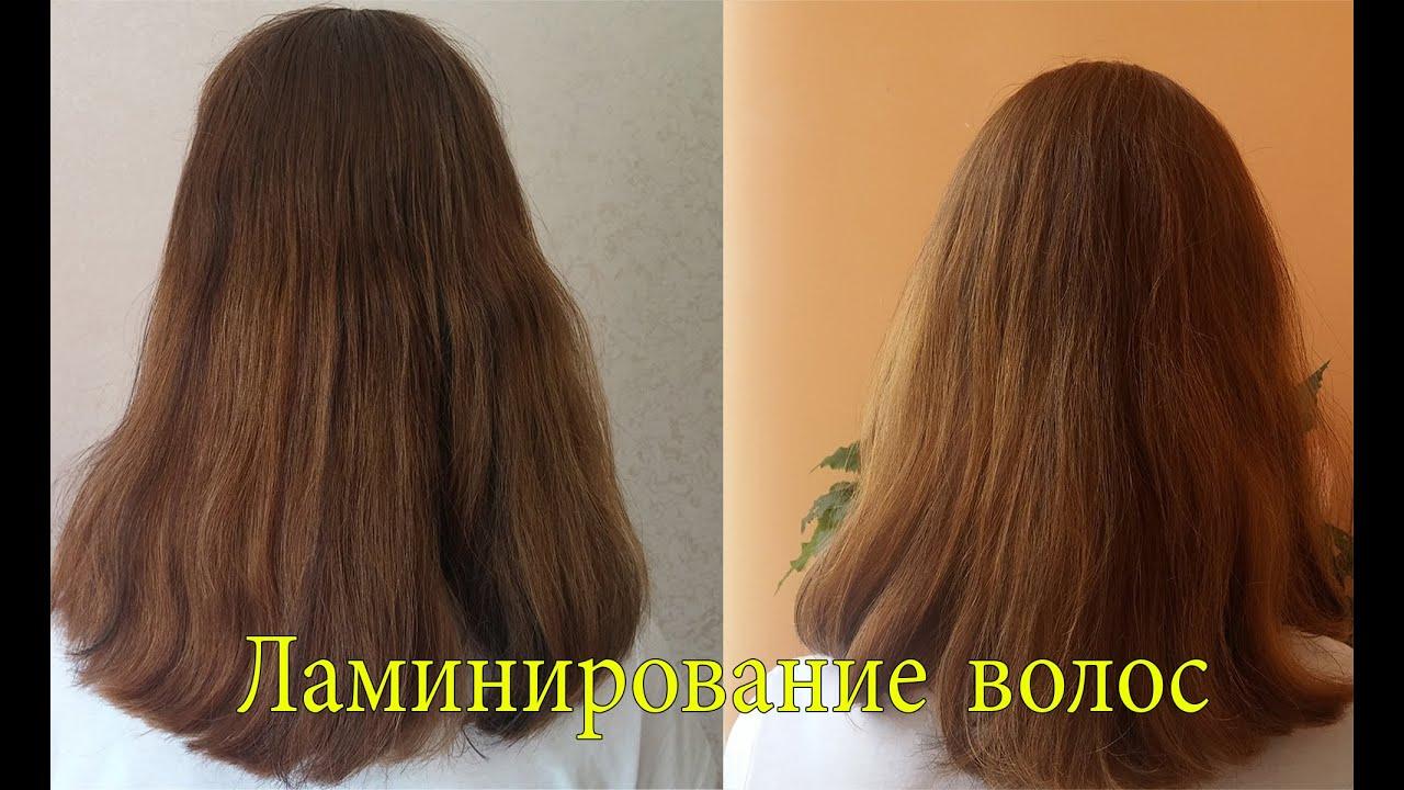 Как сделать ламинирование волос в домашних условиях желатинов