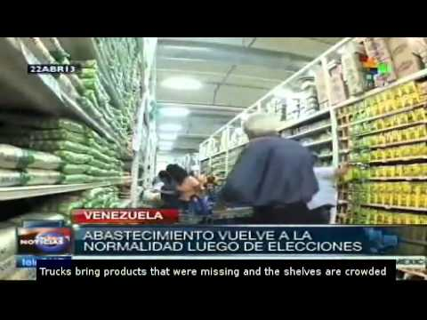 Maduro pledges to guarantee food sovereignty in Venezuela
