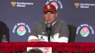 USC Football - Rose Bowl Post Game Presser vs. Penn State