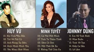 Minh Tuyết, Huy Vũ, Johnny Dũng | Bộ 3 Giọng Ca Trẻ Hải Ngoại - Lk Nhạc Hải Ngoại Song Ca Hay NHất