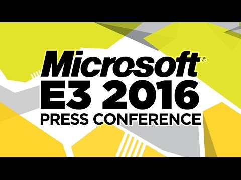 Microsoft Press Conference - E3 2016 [Full livestream]