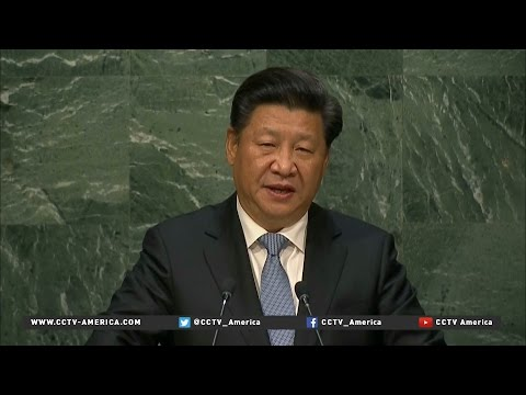 President Xi addresses U.N. General Assembly, pledges $1B in aid