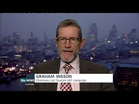 Cut Tourism VAT On ITV Central News - February 2015