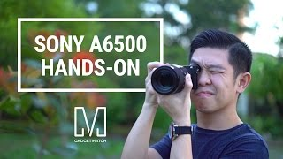 Sony A6500 Hands-On
