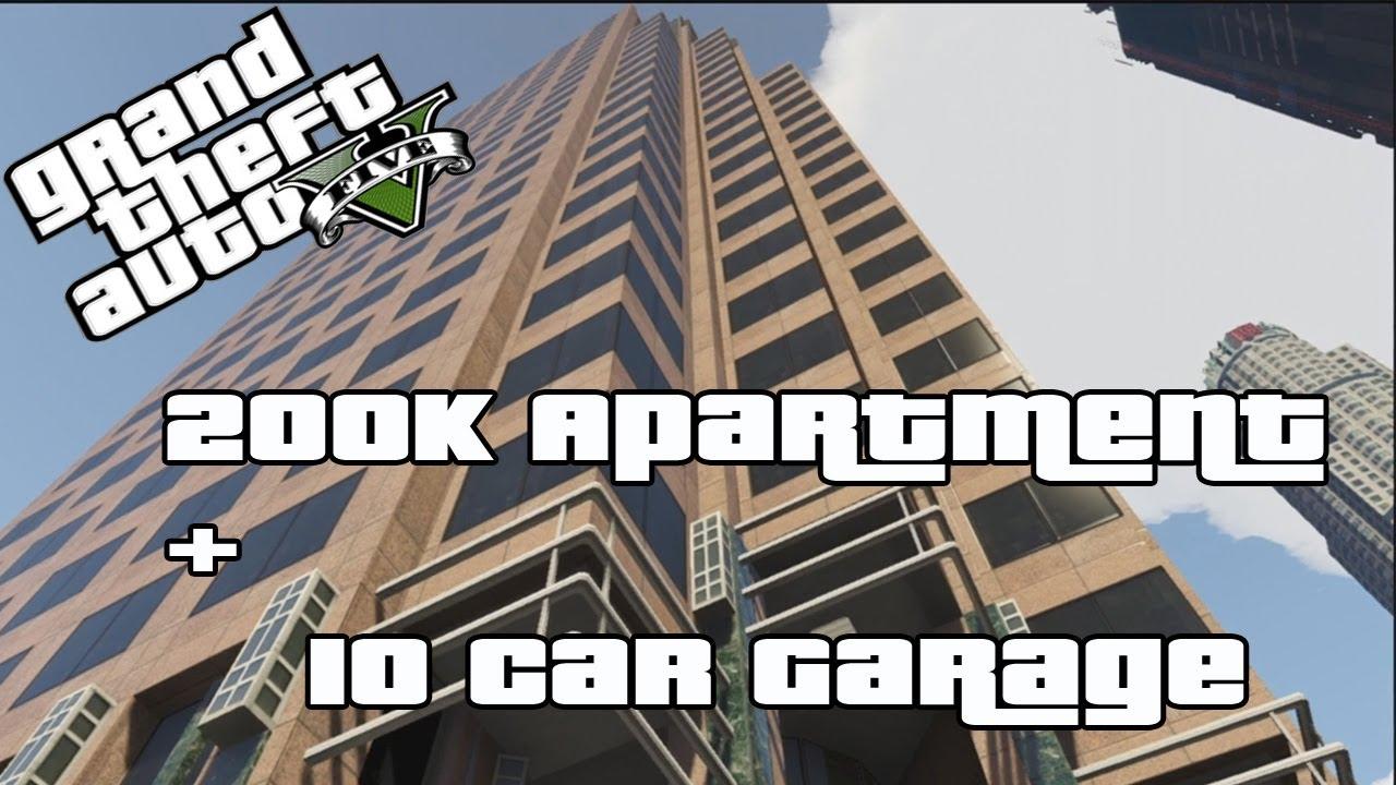 Gta V Online Buying Myself A 200k Apartment 10 Car