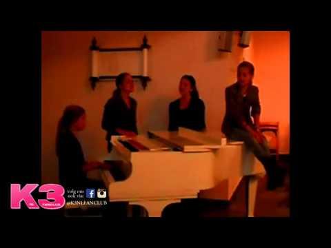 K3 Klaasje zingt Born This Way met haar zussen