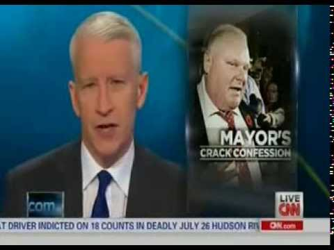 Interview - Toronto Mayor Rob Ford's Family on Ranting Video on CNN w/ Anderson Cooper - 11/7/13