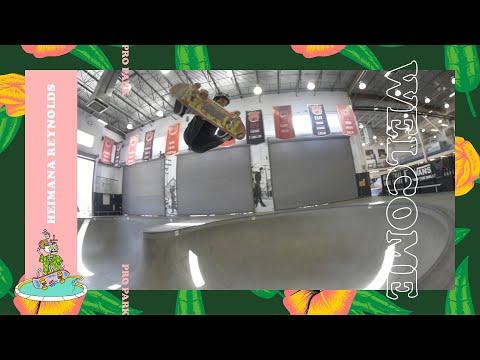 Dew Tour 2018 Pro Park Welcomes Heimana Reynolds