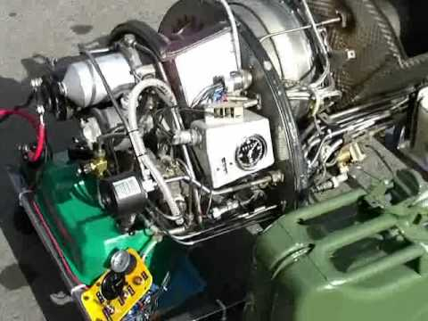 JET ENGINE ROVER 2S150 GAS TURBINE