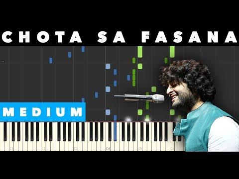 Download Lagu  Chota Sa Fasana - Piano - Notes Mp3 Free