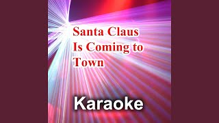Santa Claus Is Coming To Town Back Vocals Version Originally Performed By Mariah Carey
