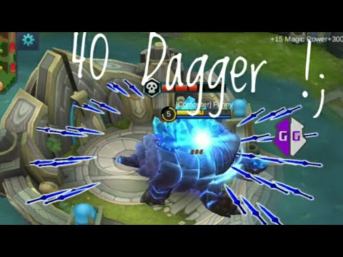 (9.05 MB) Tutorial Hack Cooldown Skill Gusion Unlimited Dagger - Mobile Legend