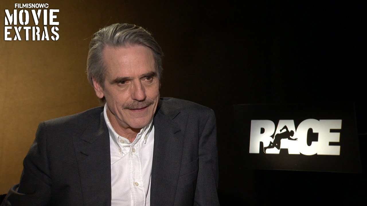 Race (2016) Official Movie Interview - Jeremy Irons