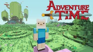 Minecraft - Adventure Time - Jake And Finn