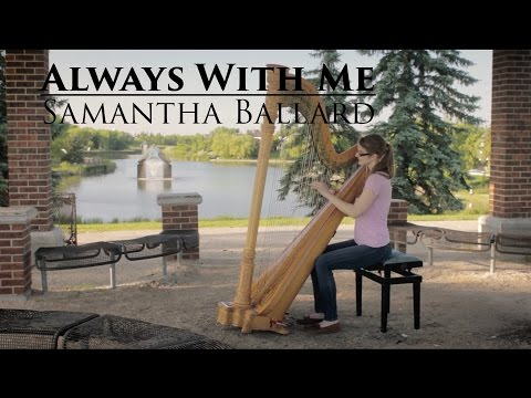 Always With Me (Itsumo Nando Demo)- Spirited Away - Harp Cover | Samantha Ballard