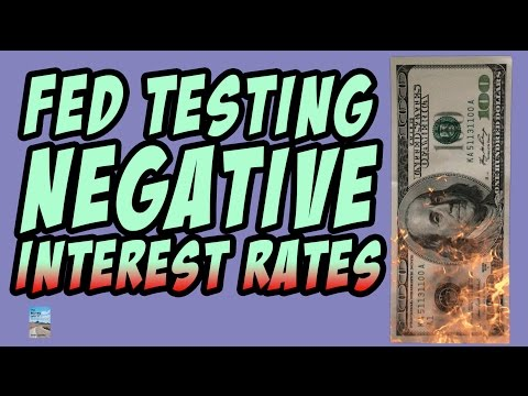 Fed Stress Test Negative Interest Rates and Global Recession Hint Future Crash!