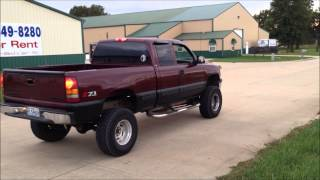 2000 Chevy 1500 5.3 V8 Flowmaster 40 series exhaust