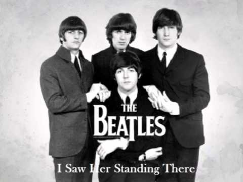 Beatles - I Saw Her Stading There