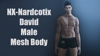 NX-Nardcotix David Male Mesh Body in Second Life