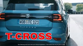 The All New SUV 2019 Volkswagen T Cross India   First Teaser Out