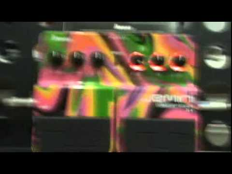 Ibanez Jemini Distortion Effect Pedal Steve Vai Signature video