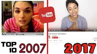 Top 10 Biggest YouTube Changes That EVERYONE Forgot