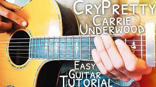 Download Lagu Cry Pretty Carrie Underwood Guitar Lesson for Beginners // Cry Pretty Guitar // Lesson #463 Gratis STAFABAND