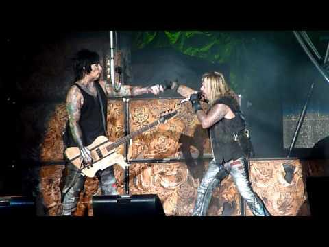 MOTLEY CRUE°HD° Primal Scream GODS OF METAL Milano Italy 23/06/2012 -tinaRnR
