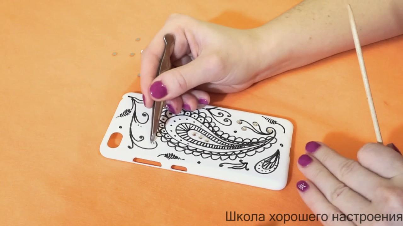 Рисунок на телефон своими руками 3