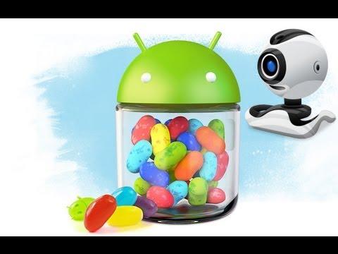 Как сделать из Android web-камеру на компьютер (например для Skype)