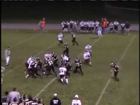 Ryan Lussky Football Highlights Luther High School 2007