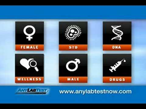 Any Lab Test Now® - Retail blood draw lab testing facility and DNA testing.