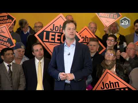 Nick Clegg Interviewed By Faisal Islam In 60 Seconds