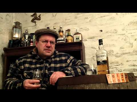 whisky review 424 - Teachers Highland Cream blended Scotch re-reviewed
