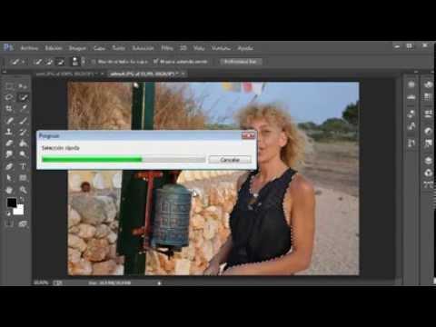 Herramienta varita mágica y selección rápida de photoshop CC www.videotutoriales.es