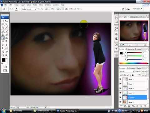 Montagem com duas Fotos-PhotoShop