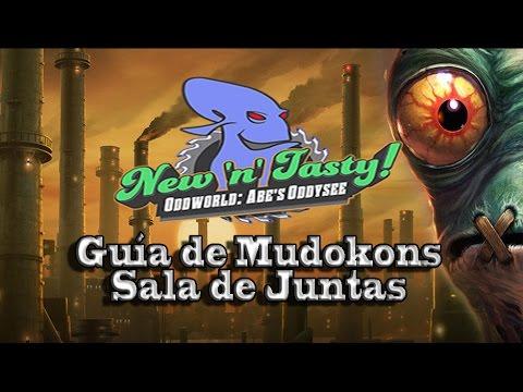Oddworld: New 'n' Tasty! - Guía de Mudokons en Sala de Juntas
