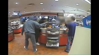 QuikTrip Robbery April 16, 2017 - Warning: Explicit Language