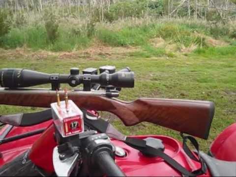 My CZ 17 HMR Rifle