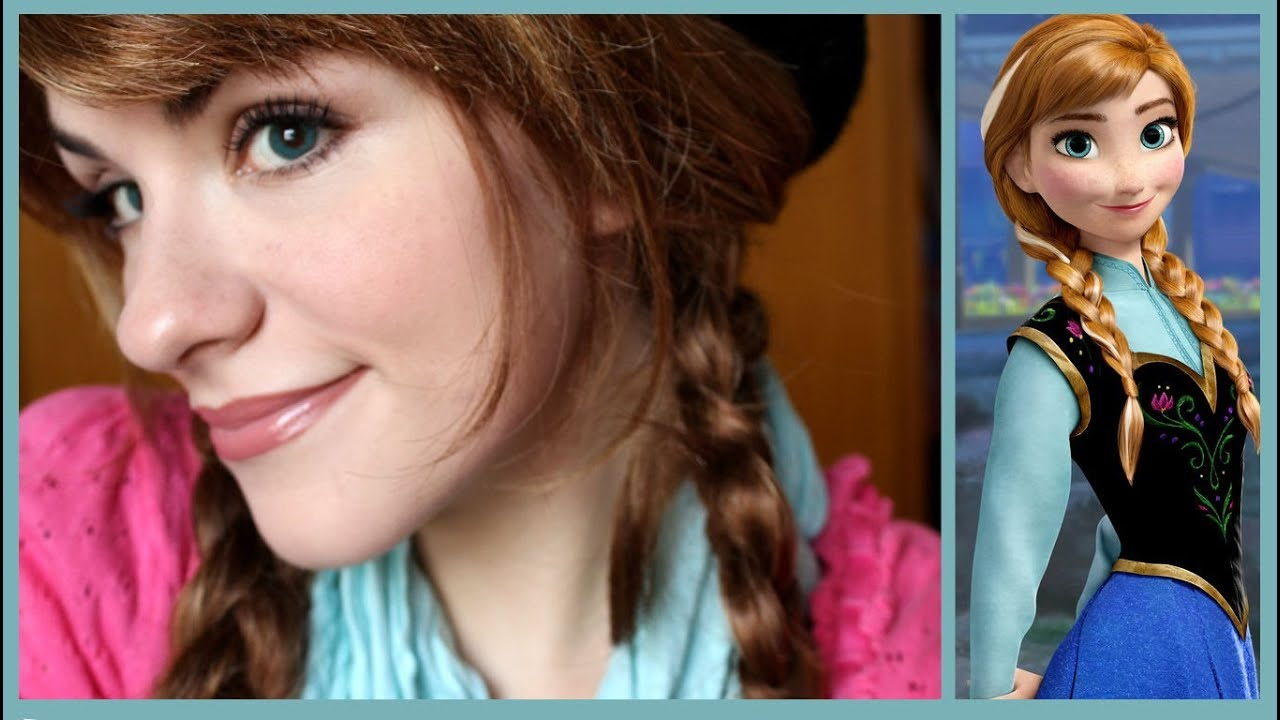 Princesa Anna (Frozen)...