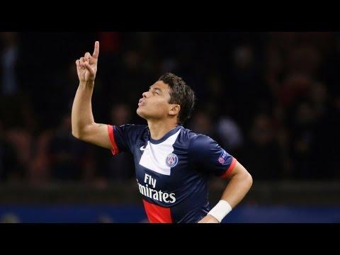 Thiago Silva - The Best Defender - PSG - 2014 ( HD )