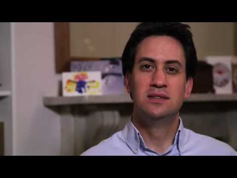 Ed Miliband's New Year Message 2013